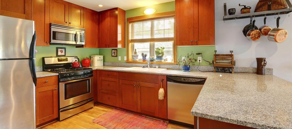 granite countertop in a pittsburgh kitchen