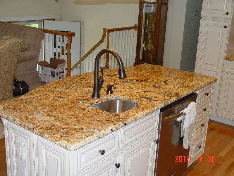granite countertop island by lexmar usa