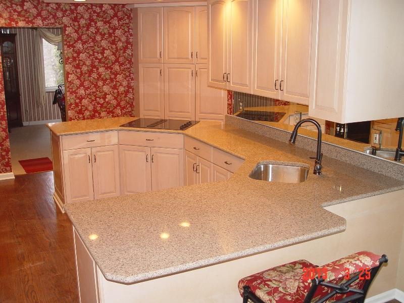 granite/quartz countertop in a pittsburgh home