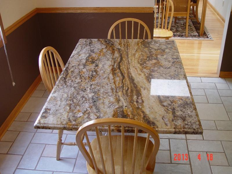 granite table top job from lexmar