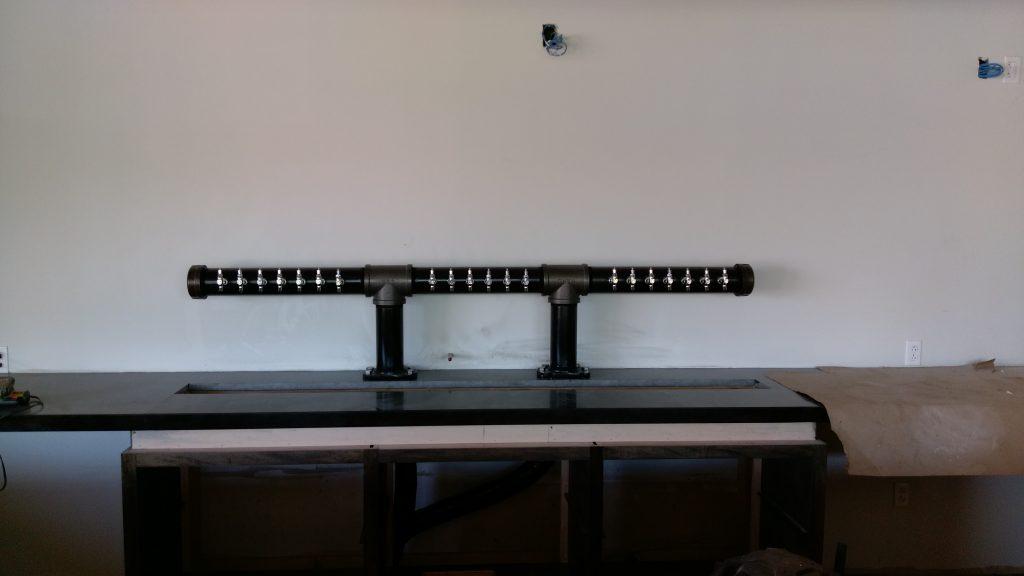 Reception Area Granite Countertop