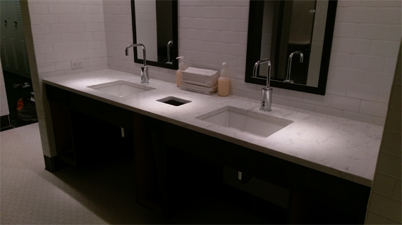 Commercial Countertop Installation