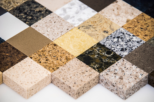 Quartz Counter top Samples