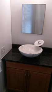 Bathroom Countertop Installation