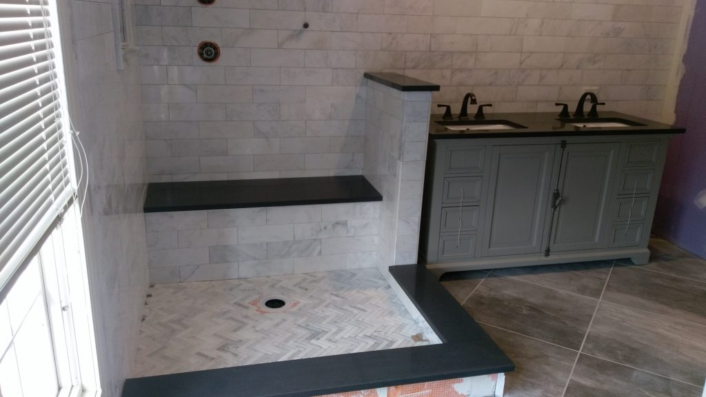 Granite Countertops in Bathroom